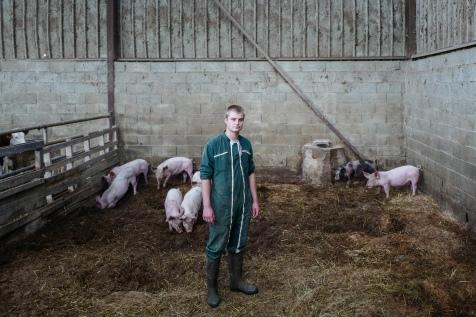 Reportage sur les fermier du Jura pour l'agence Zeppelin
