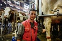 François et ses collaborateurs sont tous spécialisés dans un domaine ; les soins vétérinaires, le management d'une ferme, la règlementation,...